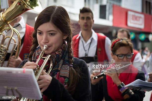 oktoberfest - brazil - tubular bells stock pictures, royalty-free photos & images