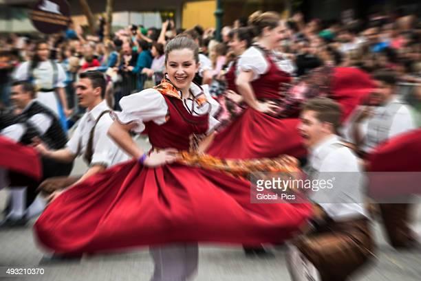 oktoberfest-brasil - cultura alemã - fotografias e filmes do acervo