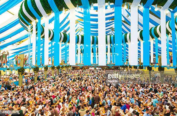 oktoberfest in munich, germany - theresienwiese stock pictures, royalty-free photos & images