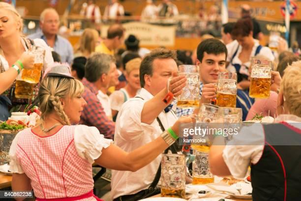 Oktoberfest de Munich, en Allemagne