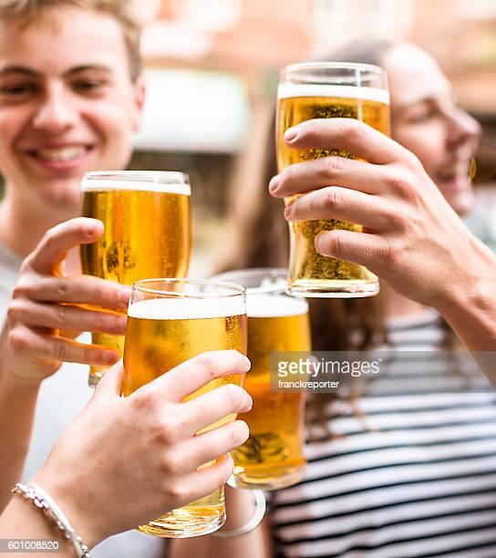 oktoberfest pints of beer