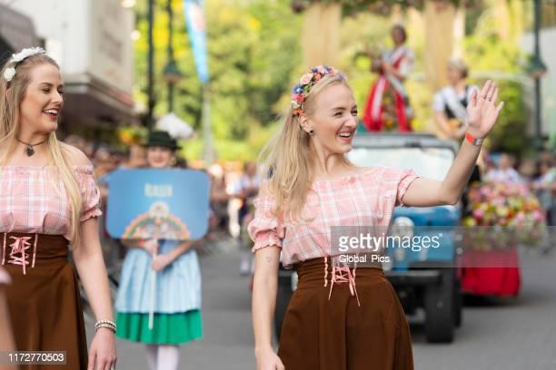 oktoberfest-blumenau, santa catarina-brazil - german culture stock pictures, royalty-free photos & images