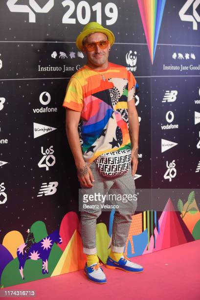 Okuda attends the 40 Principales Awards nominated dinner at Florida Retiro on September 12 2019 in Madrid Spain