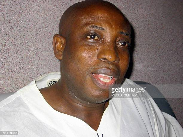 The leader of the Movement for the Actualisation of a Sovereign State of Biafra , Ralph Uwazuruike, discusses his strategy during an interview at his...