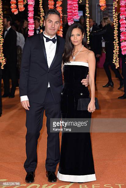 Ol Parker and Thandie Newton attend The Royal Film Performance and World Premiere of The Second Best Exotic Marigold Hotel at Odeon Leicester Square...