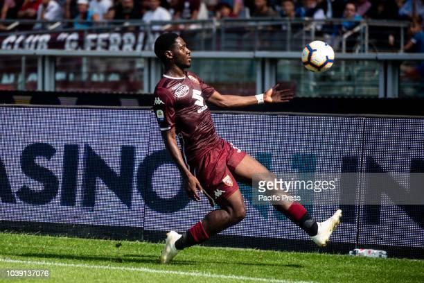 Ola Aina during the Serie A match between Torino and Napoli at Stadio Olimpico Torino Italy on 23 September 2018 Napoli won 13