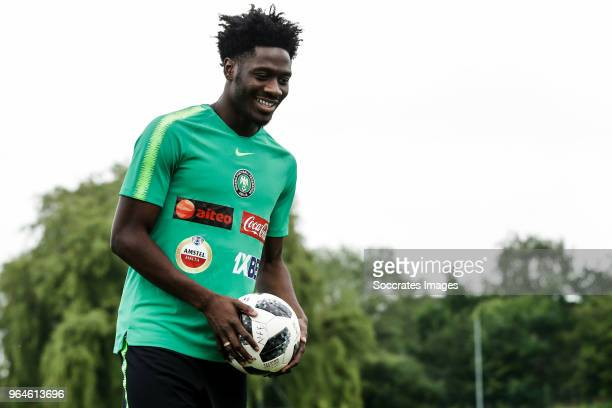 Ola Aina of Nigeria during the Nigeria Training at the The hive on May 31 2018 in Barnet United Kingdom