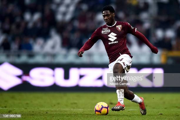 Ola Aina of Torino FC in action during the Coppa Italia football match between Torino FC and ACF Fiorentina ACF Fiorentina won 20 over Torino FC