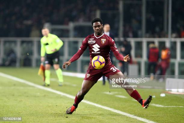 Ola Aina of Torino FC in action during the Serie A football match between Torino Fc and Juventus Fc Juventus Fc wins 10 over Torino Fc