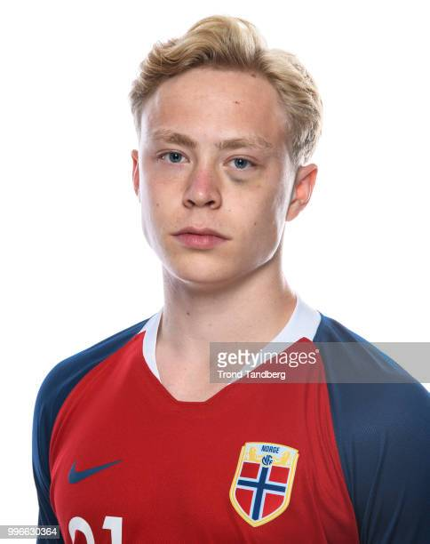 Ola Brynhildsen of Norway during G19 Men Photocall at Thon Arena on July 11 2018 in Lillestrom Norway