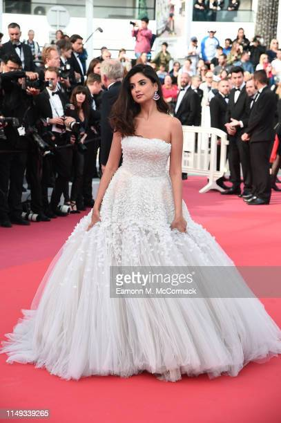 Ola Farahat attends the screening of Les Miserables during the 72nd annual Cannes Film Festival on May 15 2019 in Cannes France