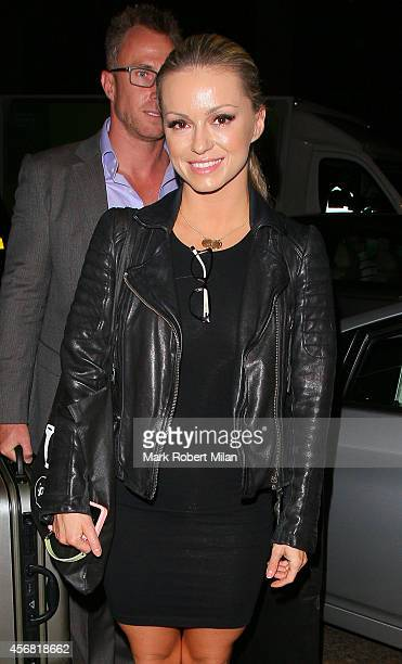 Ola Jordan attending the Specsavers Spectacle Wearer of the Year awards 2014 on October 7 2014 in London England
