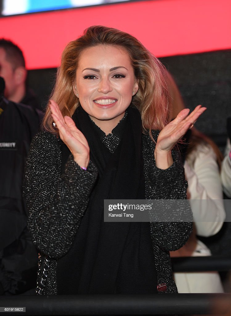 Ola Jordan attends the Celebrity Big Brother Eviction at Elstree Studios on January 17, 2017 in Borehamwood, England.
