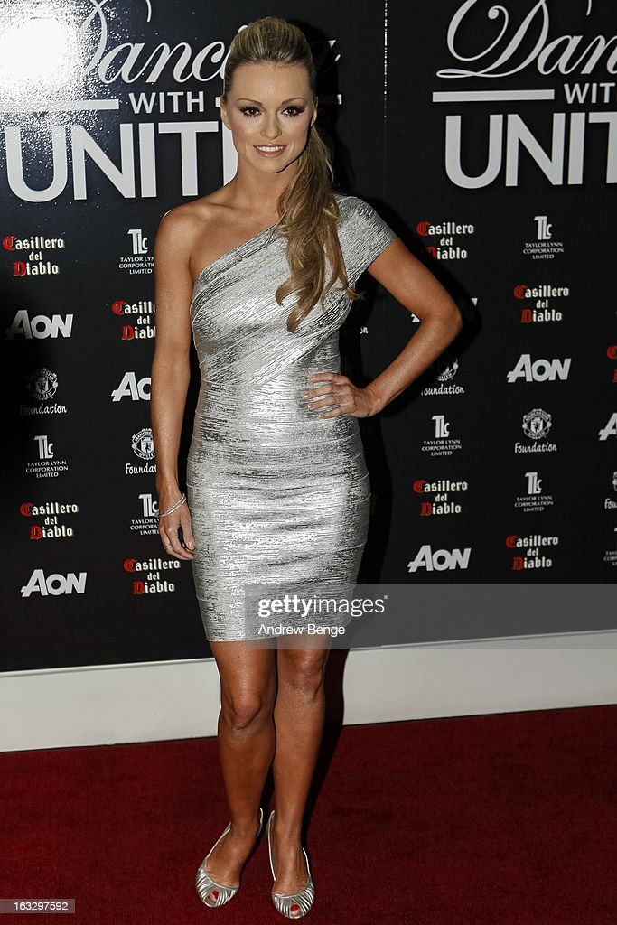 Ola Jordan attends the Manchester United Foundations Dancing with united charity fundraiser at Lancashire County Cricket Club on March 7, 2013 in Manchester, England.