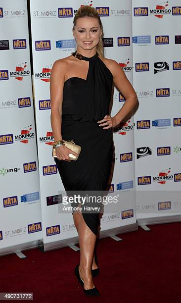 Ola Jordan attends the National Reality TV Awards at Porchester Hall on September 30 2015 in London England