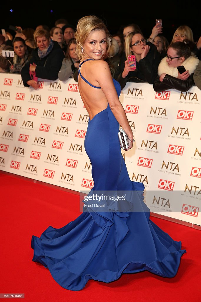 Ola Jordan attends the National Television Awards at The O2 Arena on January 25, 2017 in London, England.