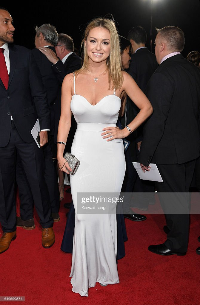 Ola Jordan attends the Pride Of Britain Awards at The Grosvenor House Hotel on October 31, 2016 in London, England.