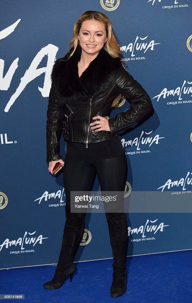 Ola Jordan attends the Red Carpet arrivals for Cirque Du Soleil Amaluna at Royal Albert Hall on January 19, 2016 in London, England.