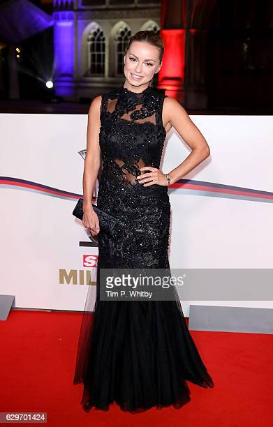 Ola Jordan attends The Sun Military Awards at The Guildhall on December 14 2016 in London England