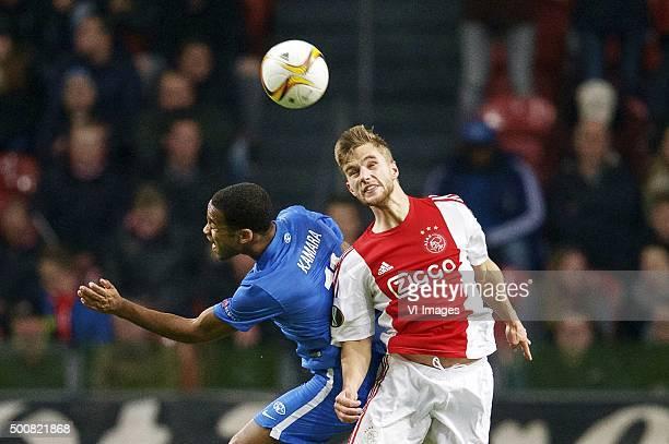 Ajax V Molde Fk Uefa Europa League Fotografías e imágenes ...
