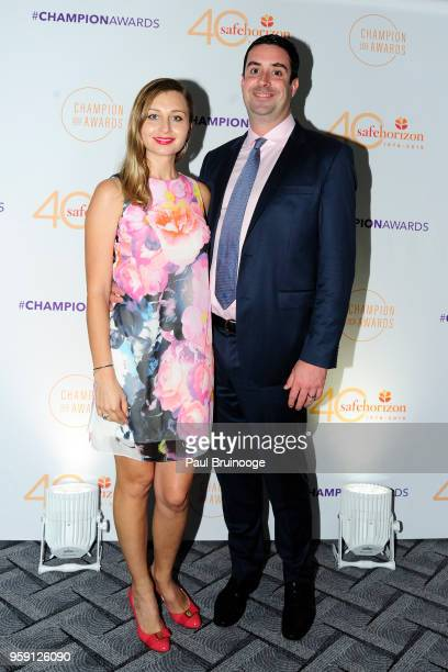 Ola Parks and Ben Parks attend Safe Horizon's Champion Awards at The Ziegfeld Ballroom on May 15 2018 in New York City