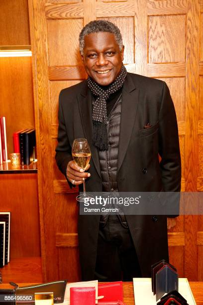 Ola Solanke attends the new flagship store launch of Aspinal on Regent's Street St James's on December 5 2017 in London England