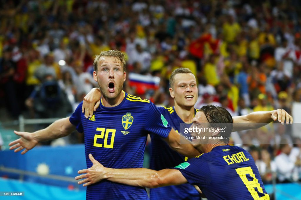Germany v Sweden: Group F - 2018 FIFA World Cup Russia : Nachrichtenfoto