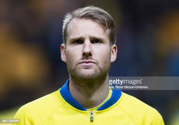 Ola Toivonen of Sweden during the FIFA 2018 World Cup Qualifier between Sweden and Belarus at Friends arena on March 25 2017 in Solna