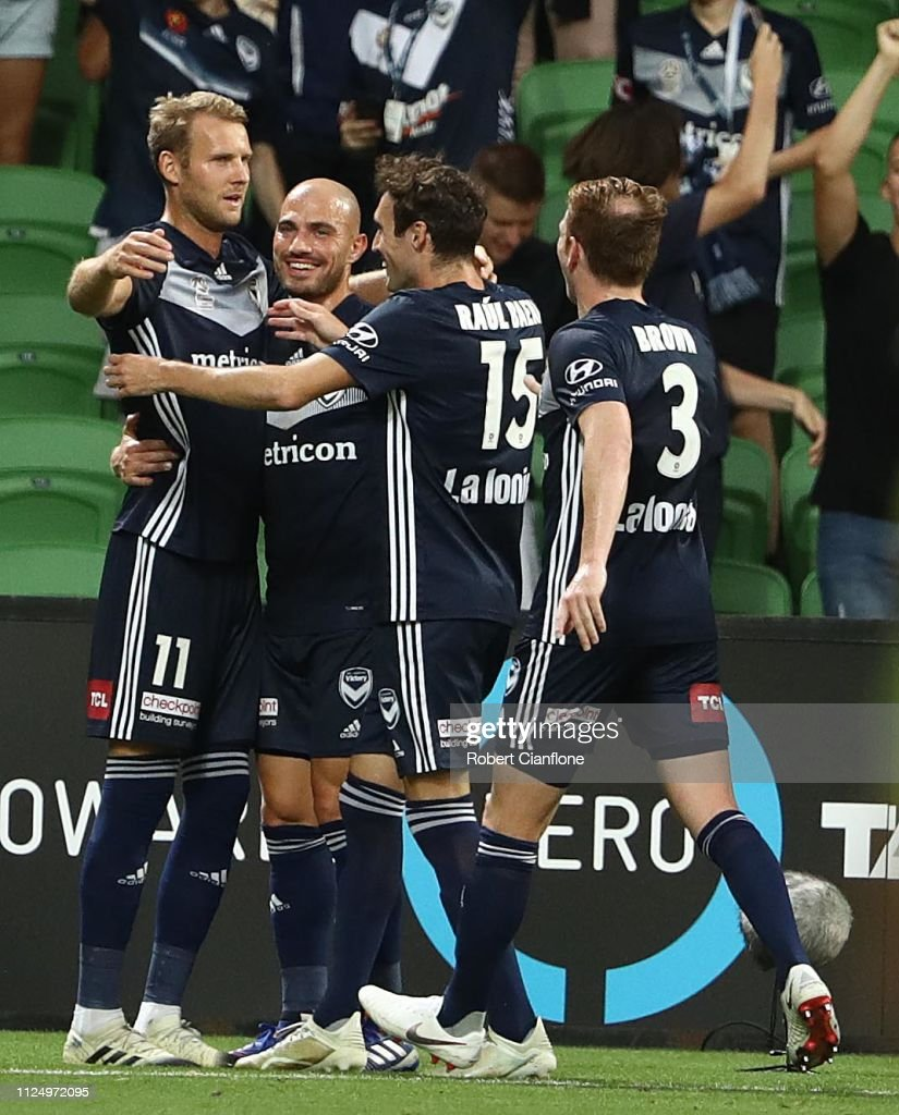 A-League Rd 16 - Melbourne v Sydney : News Photo