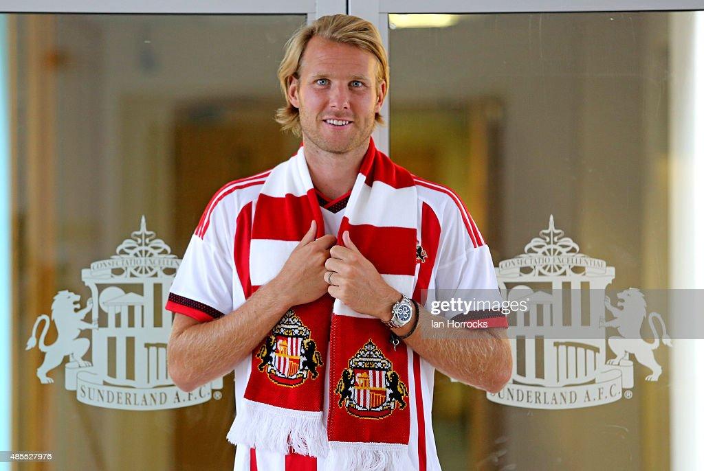 Sunderland Unveil Loan Signing Ola Toivonen : News Photo