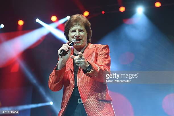 Olaf der Flipper performs on stage during the 'Schlagernacht des Jahres' at the Lanxess Arena on April 25 2015 in Cologne Germany