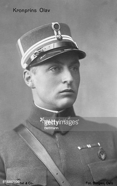 Olaf of Norway as crown Prince Born 1896married to Princess Martha of Sweden