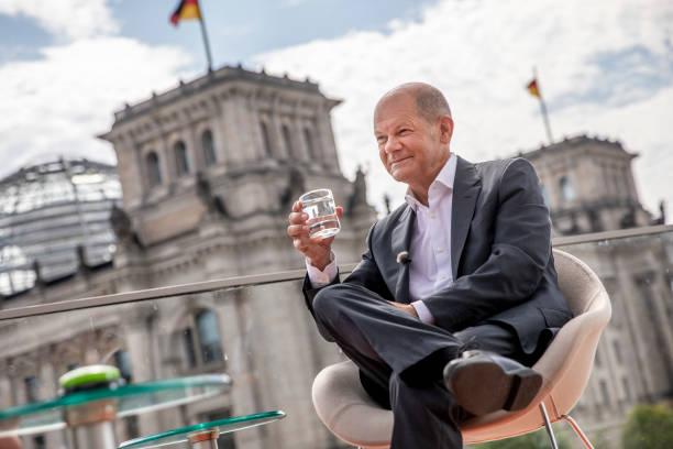 DEU: Olaf Scholz In ARD Summer Interview