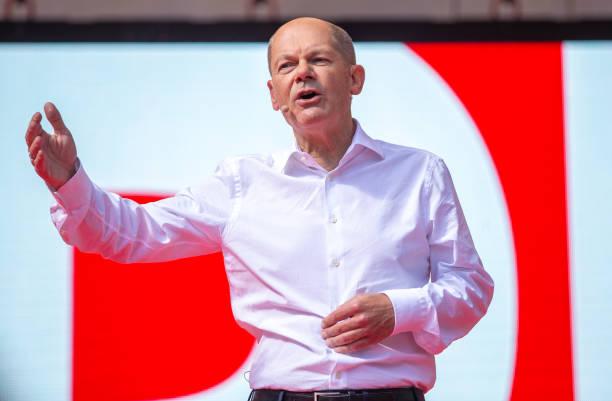 DEU: Olaf Scholz, SPD, Campaigns In Munich