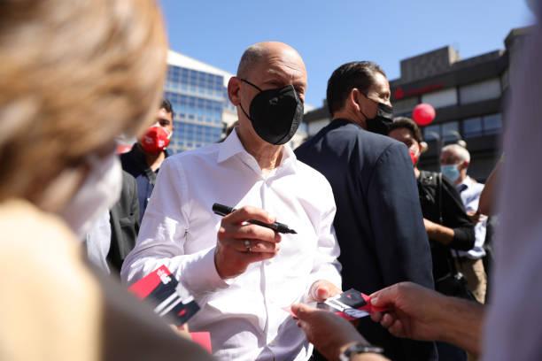DEU: Social Democrats (SPD) Launch Election Campaign Tour