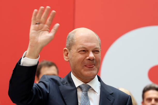 DEU: Social Democratic Party Chancellor Candidate Olaf Scholz Post Election Statement