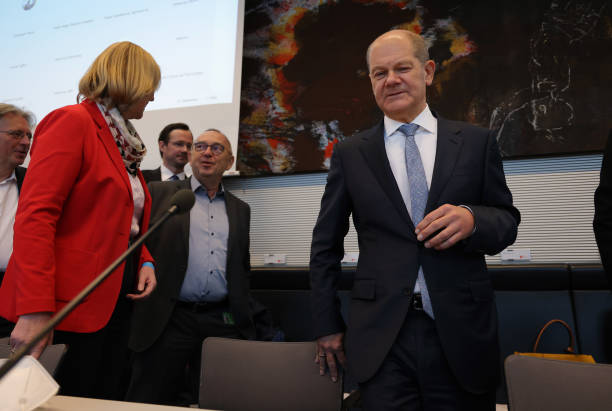 DEU: On Eve Of New Bundestag, Political Party Factions Meet