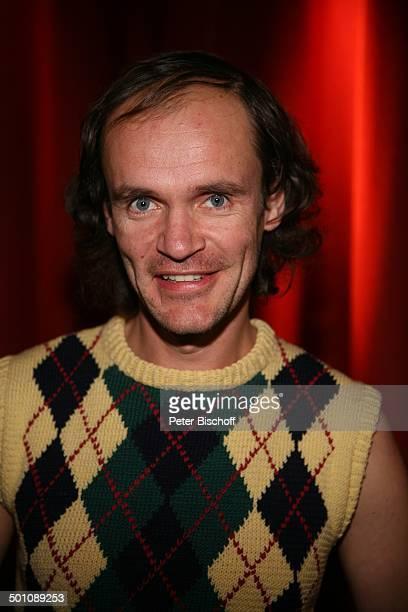 """Olaf Schubert , Porträt, RTL-Show """"Deutscher Comedypreis 2008"""", """"Coloneum"""", Köln, Nordrhein-Westfalen, Deutschland, Europa, Portrait, Comedystar,..."""