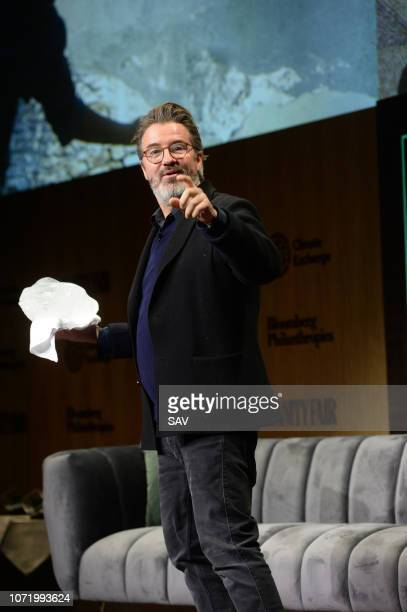 Olafur Eliasson Artist during The Climate Change Conference held at Bloomberg London on December 12 2018 in London England