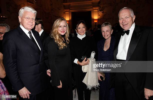 Olafur Ragner Grimsson, President of the Republic of Iceland, Louise Blouin, CEO & Chairman of Louise Blouin Media, guest, guest, and academic and...