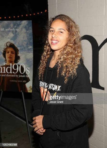 Olan Prenatt attend the premiere of A24's Mid90s at West LA Courthouse on October 18 2018 in Los Angeles California