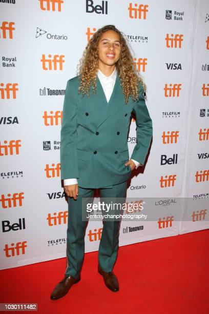 Olan Prenatt attends the 'Mid90s' Premiere during 2018 Toronto International Film Festival at Ryerson Theatre on September 9 2018 in Toronto Canada
