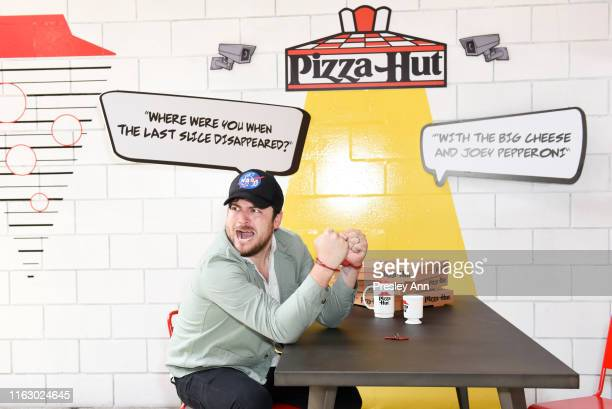 Olan Rogers of 'Final Space' attends the Pizza Hut Lounge at 2019 ComicCon International San Diego on July 19 2019 in San Diego California