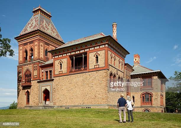 olana, persian-style home of frederic church in the catskills - terryfic3d bildbanksfoton och bilder