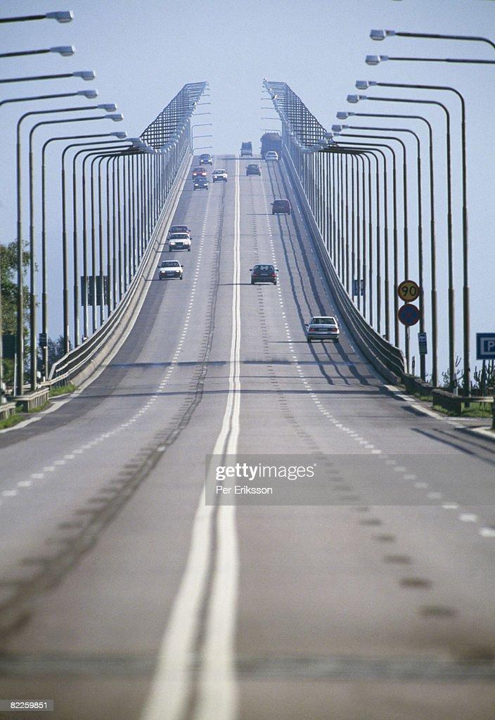 Oland bridge Sweden. : Stock Photo