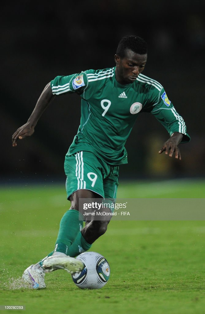 Olarenwaju Kayode of Nigeria in action during the FIFA U-20 World Cup Group D match between Croatia and Nigeria at the Estadio Centenario on August 3, 2011 in Armenia, Colombia.