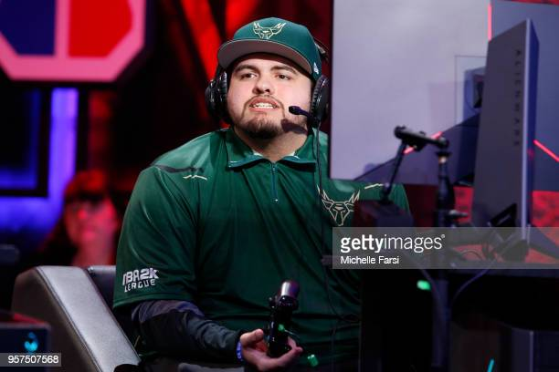 oLarry of Bucks Gaming against 76ers Gaming Club on May 11 2018 at the NBA 2K League Studio Powered by Intel in Long Island City New York NOTE TO...