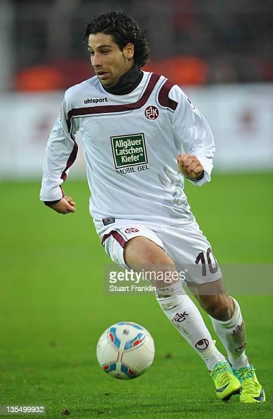 Olcay Sahan of Kaiserslautern in action during the Bundesliga match between Borussia Dortmund and 1. FC Kaiserslautern at Signal Iduna Park on...