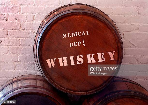 Old 1800s Medicinal (Medical) Whiskey Barrel