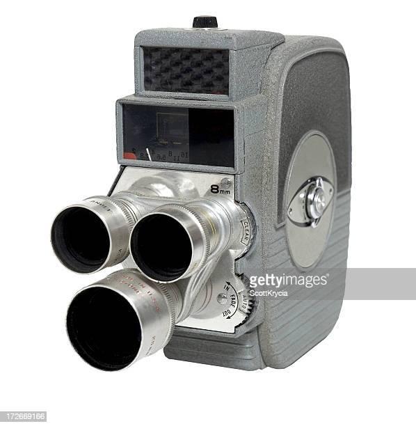 Old 3 Lens 8mm Camera
